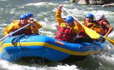 Rafting, In the Coast