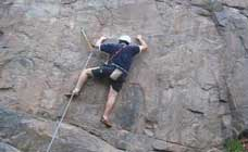 Rock Climbing in Canchacalla